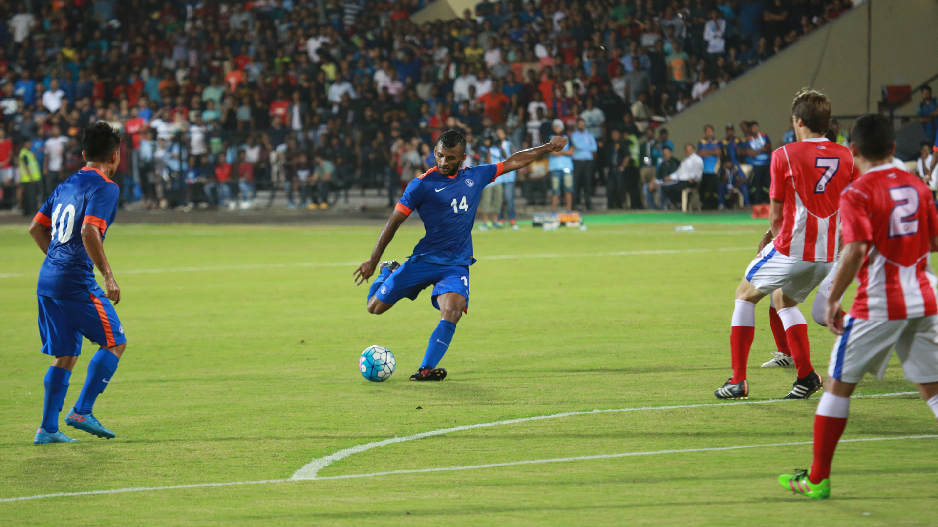 Pronay Halder India Puerto Rico International Friendly