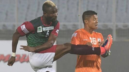 Ansumana Kromah Mohun Bagan NEROCA FC I-League 2017/2018