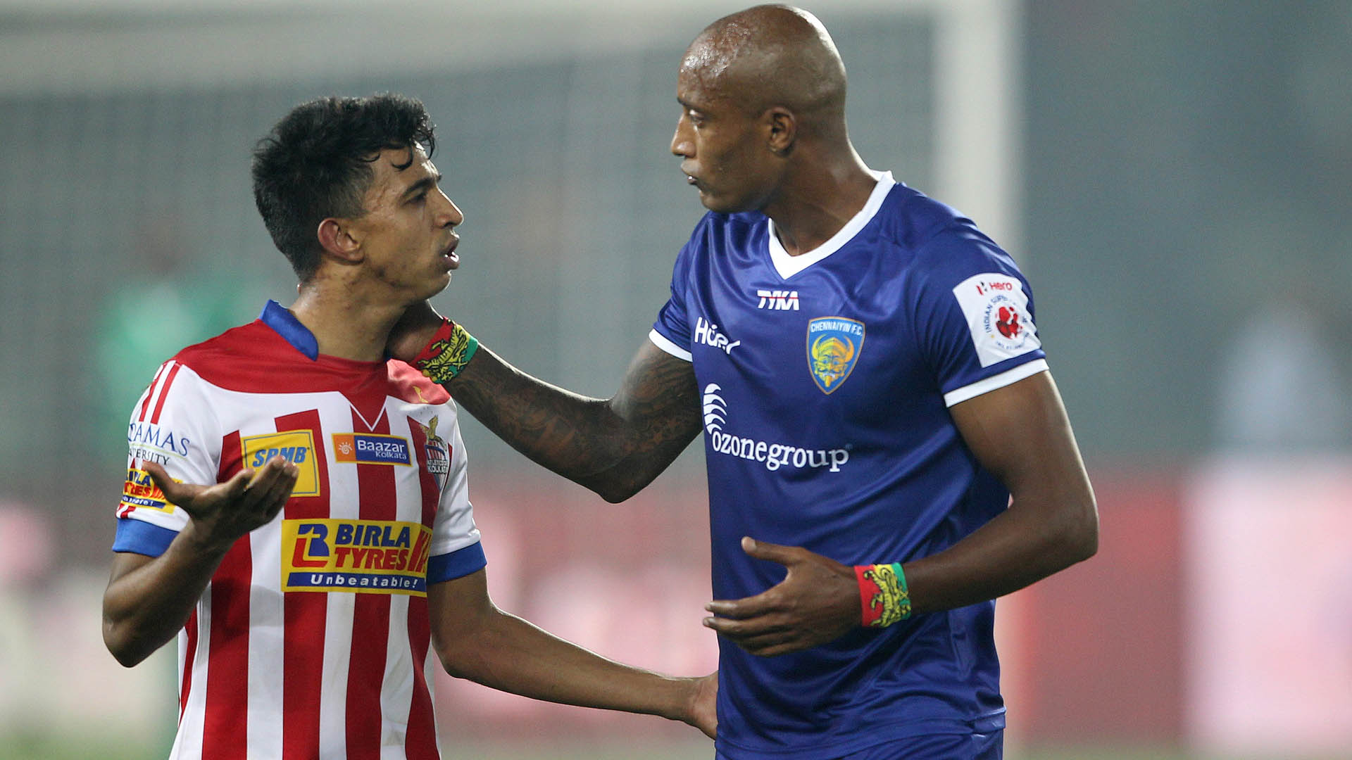 Sameehg Doutie Fikru Teferra Atletico de Kolkata Chennaiyin FC ISL season 2