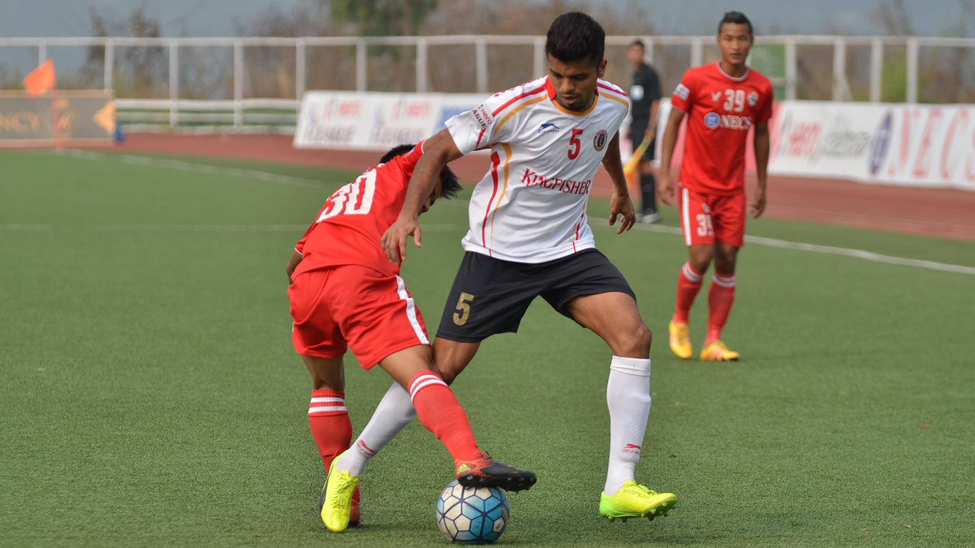Rahul Bheke Aizawl FC East Bengal FC I-League 2017