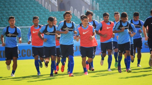 India National Team training session