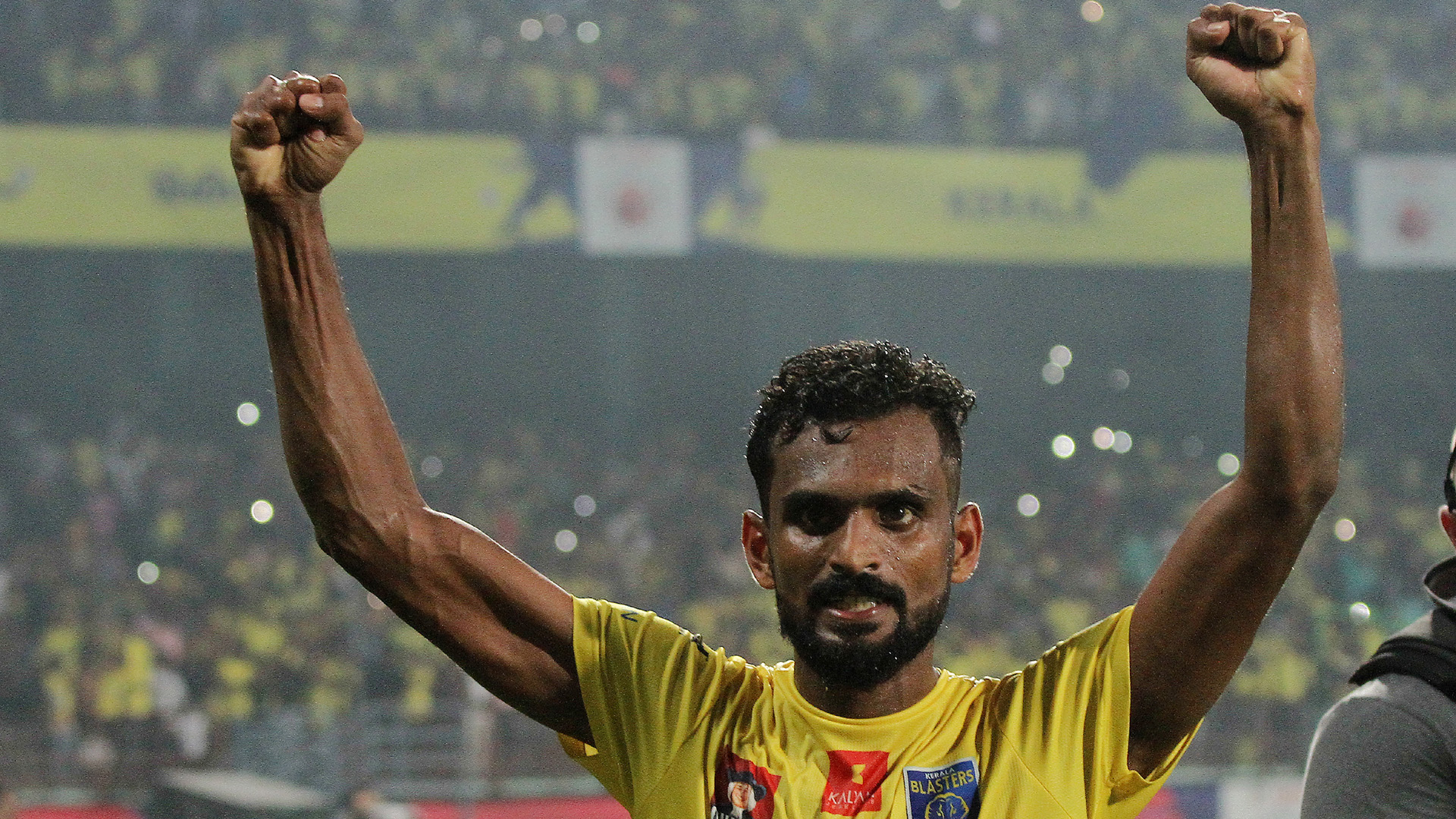 C K Vineeth Kerala Blasters FC NorthEast United FC ISL season 3 2016