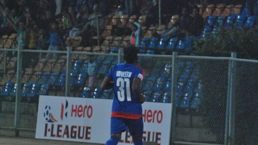 CK Vineeth Bengaluru FC Chennai City FC I-League 2017