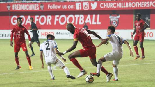 Osagie Monday Churchill Brothers Indian Arrows I-League 2017/2018
