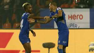 Thiago Nascimento Dos Santos Mumbai City FC FC Goa Season 4 ISL 2017/18