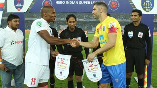 Florent Malouda Aaron Hughes Delhi Dynamos FC Kerala Blasters FC ISL semi final season 3 2016