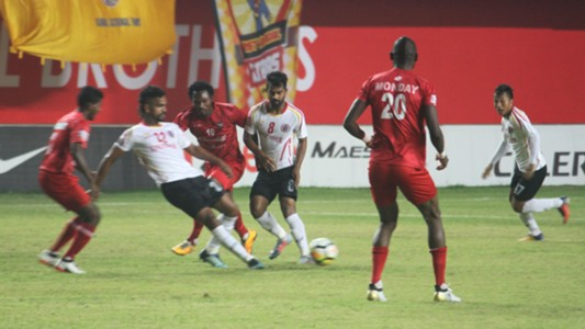 Churchill Brothers East Bengal I-League 2017/2018