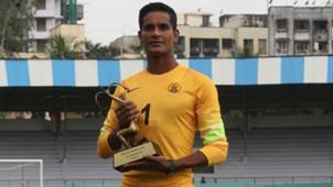 Subrata Paul with Arjuna Award India