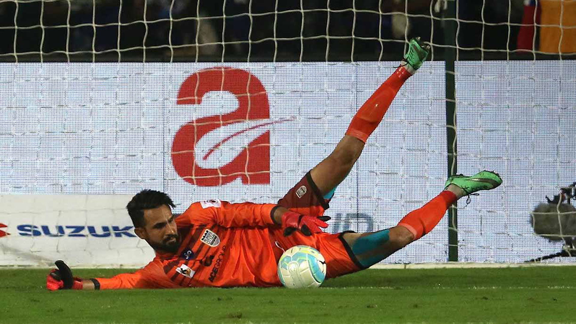 Amrinder Singh Mumbai City FC ATK ISL 4 2017/2018