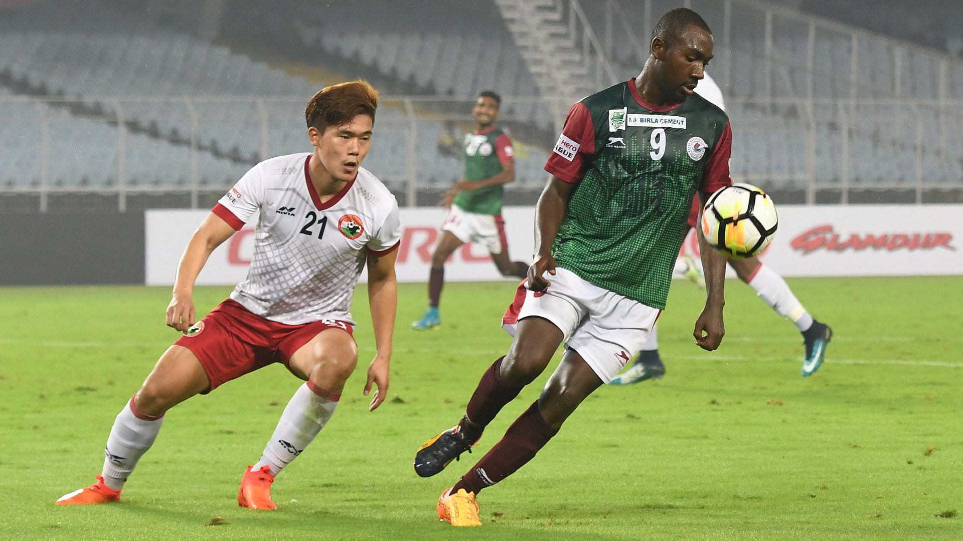 Juho Oh Dipanda Dicka Mohun Bagan Shillong Lajong FC I-League 2017/2018