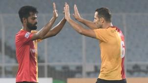 Md Rafique Mahmoud Al Amna East Bengal Gokulam FC I-League 2017/2018