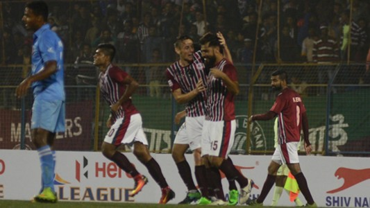 Mohun Bagan AC Churchill Brothers SC I-League 2017