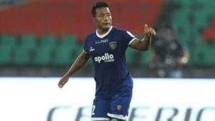 Jeje Lalpekhlua Chennaiyin FC Delhi Dynamos FC ISL 4 2017/2018