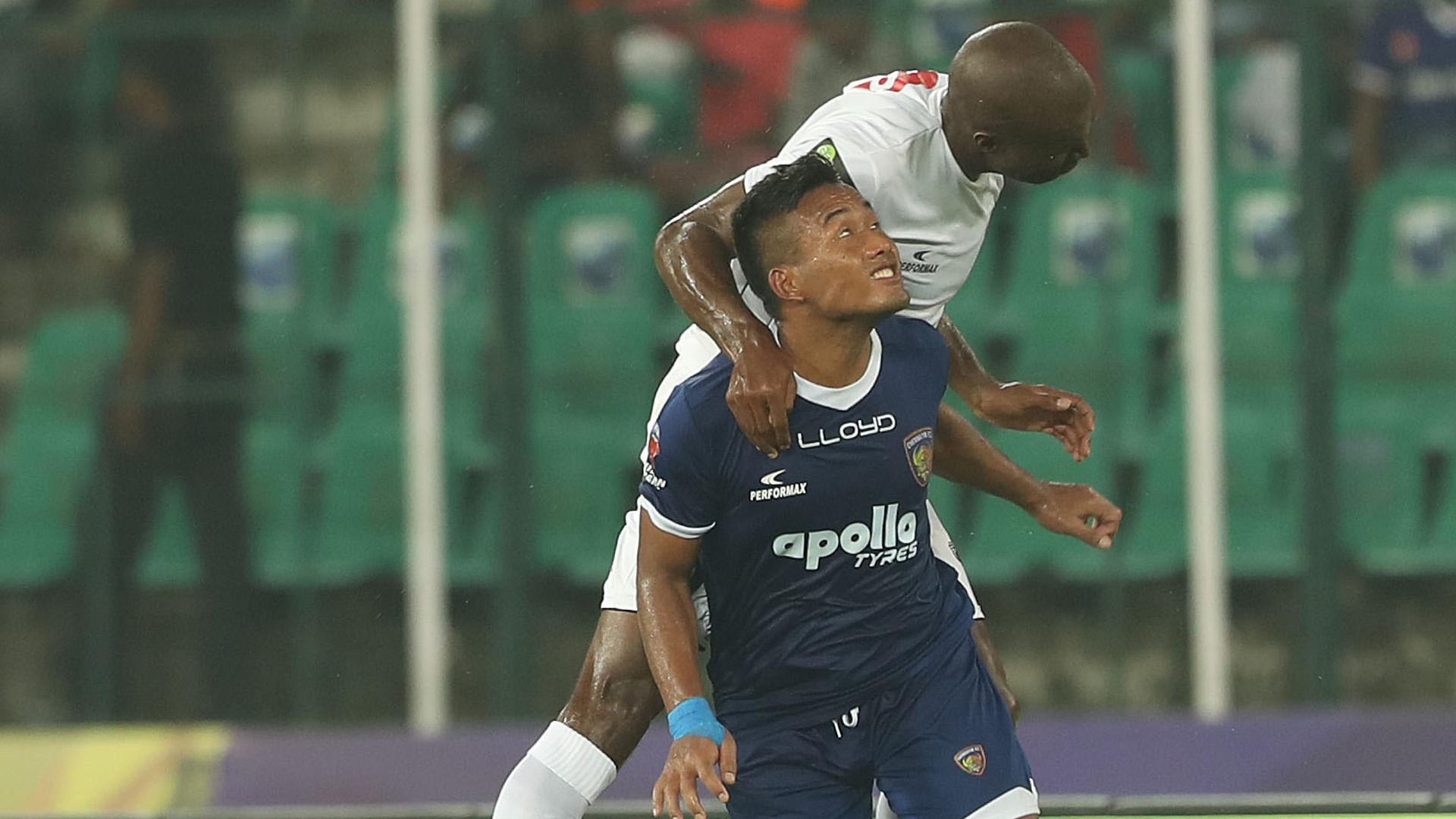 Jeje Lalpekhlua Chennaiyin FC NorthEast United FC ISL season 4 2017/2018