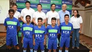 Baichung Bhutia Vedanta launches SESA Football Academy