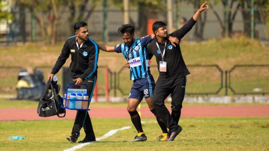 Kamalpreet Singh Minerva Punjab FC East Bengal I-League 2017/2018