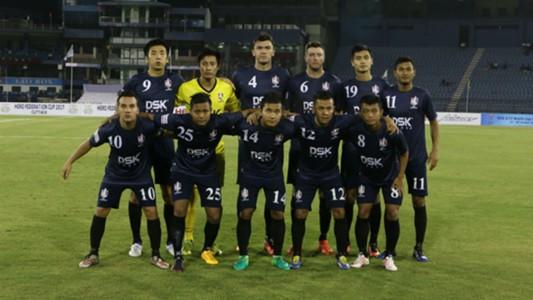 DSK Shivajians FC squad Federation Cup 2017