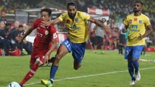 Sandesh Jhingan Kerala Blasters FC NorthEast United FC ISL season 3 2016