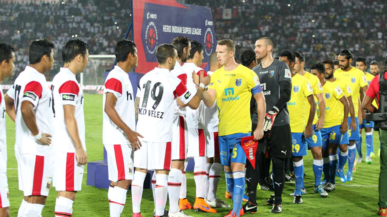 NorthEast United FC Kerala Blasters FC ISL season 2