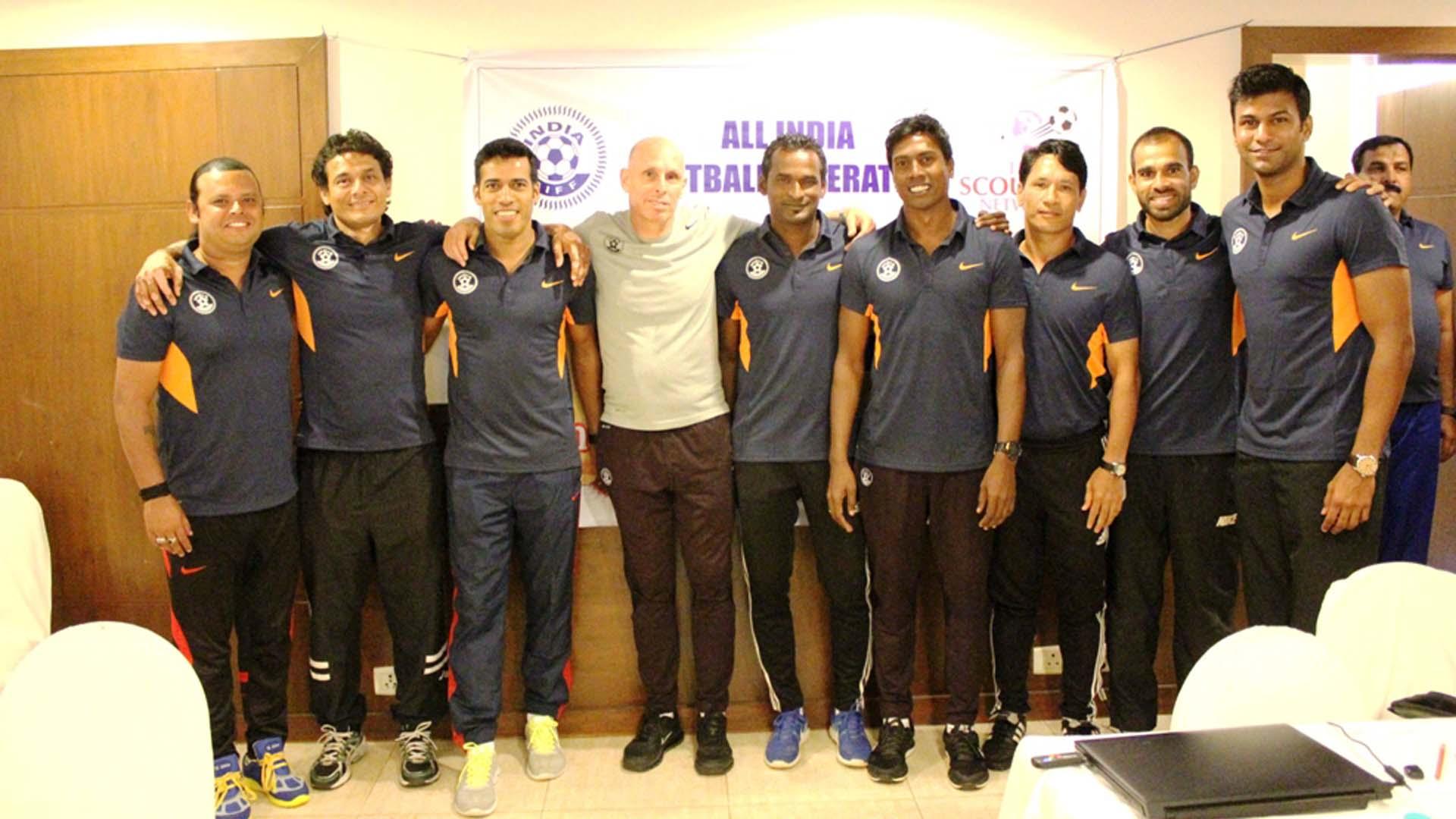 Mahesh Gawli Samir Naik Abhishek Yadav Shanmugam Venkatesh Stephen Constantine Indian National Team