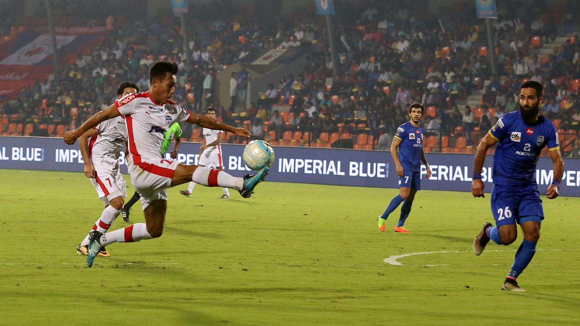 Udanta Singh Mumbai City FC Bengaluru FC ISL 4 2017/2018