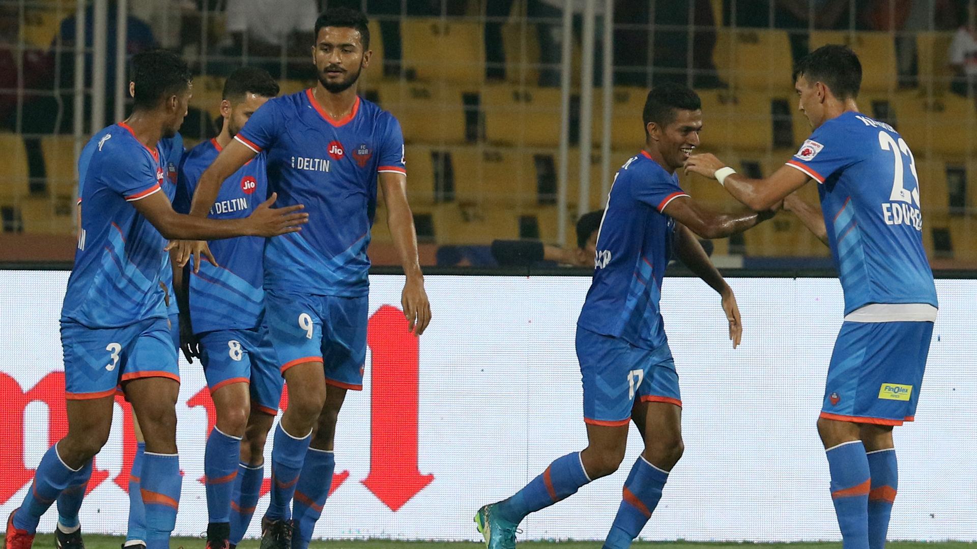 FC Goa NorthEast United FC ISL 4 2017/2018