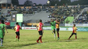 Chennai City FC East Bengal FC I-League 2017/2018