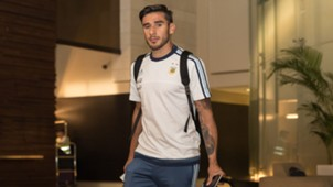 Eduardo Salvio Argentina Football Team in Singapore