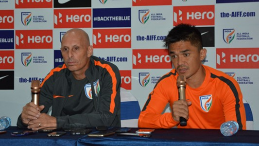 Stephen Constantine Sunil Chhetri Asian Cup 2019 Qualifiers