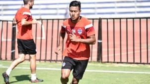 Salam Ranjan Singh Bengaluru FC practice session