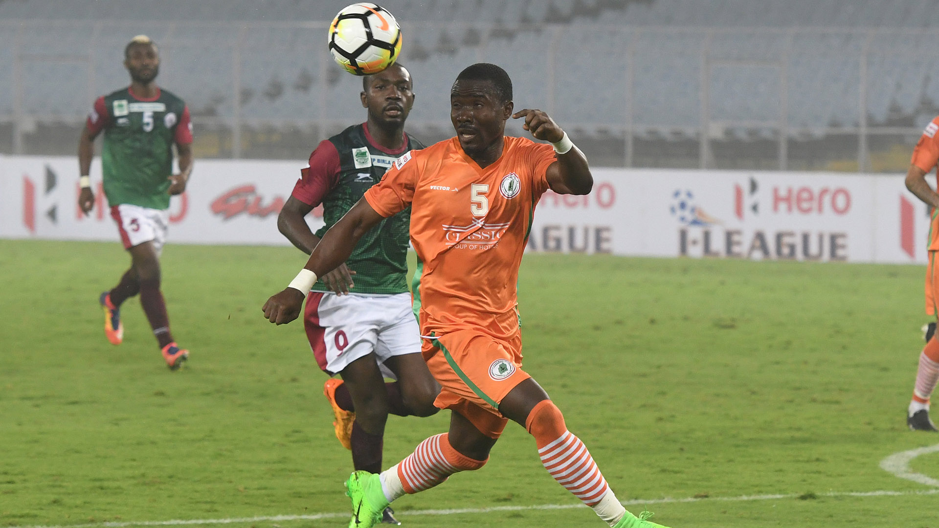 Kallon Kiatamba Mohun Bagan NEROCA FC I-League 2017/2018