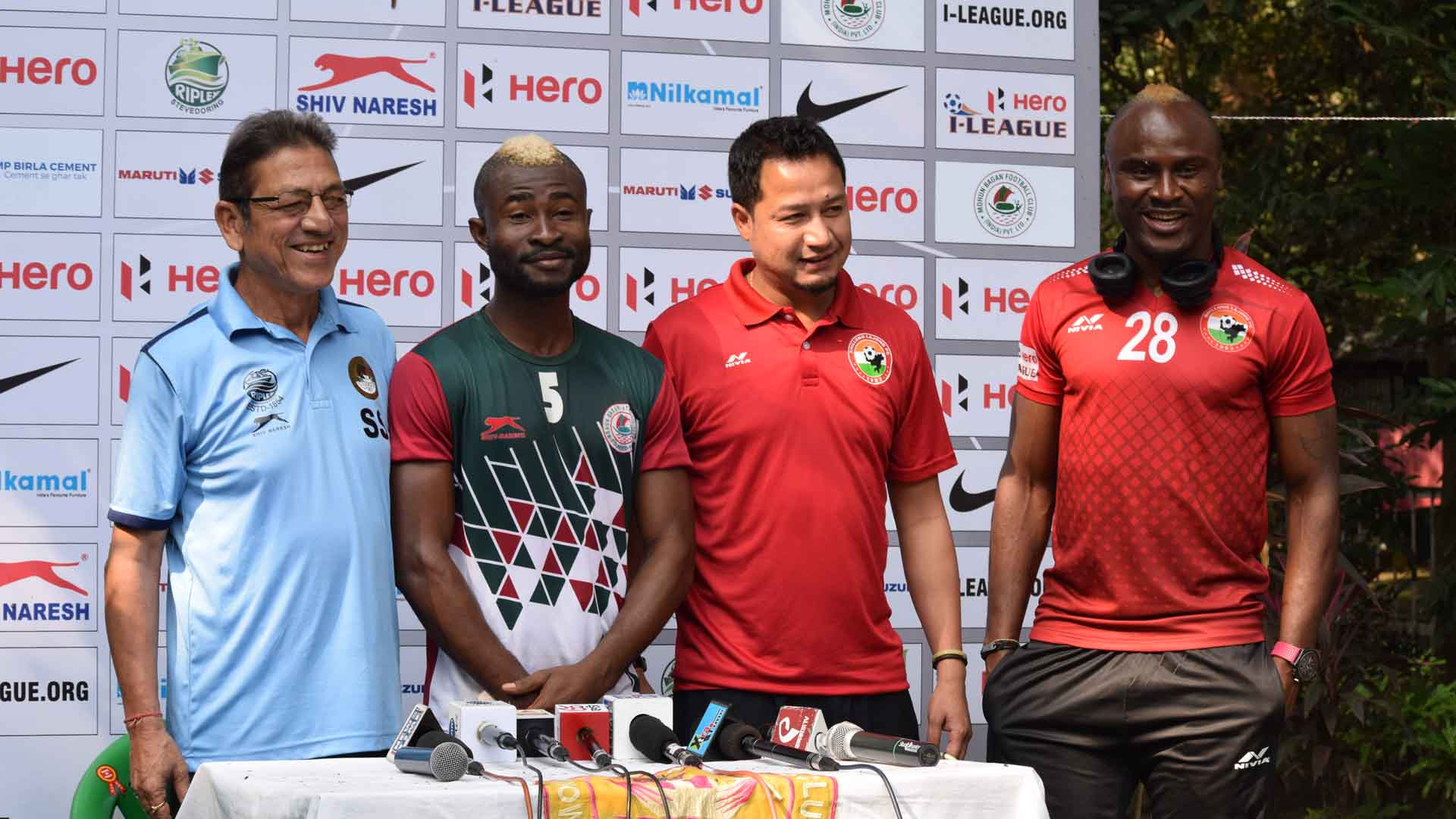 I-League 2017: Advantage Lajong if Sony Norde and Kromah miss out, says Bobby Nongbet