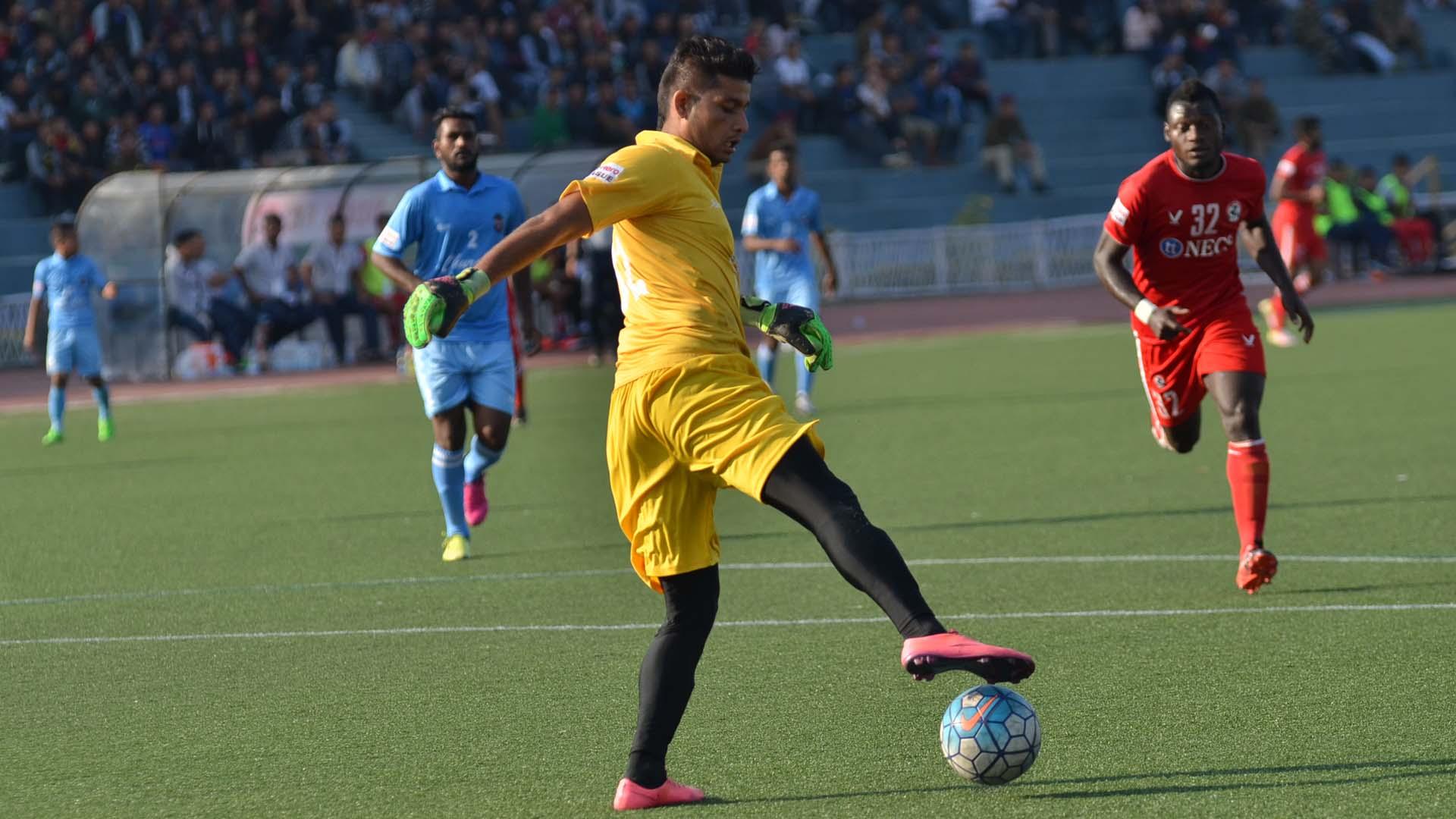 Naveen Kumar Aizawl FC Churchill Brothers SC I-League 2017