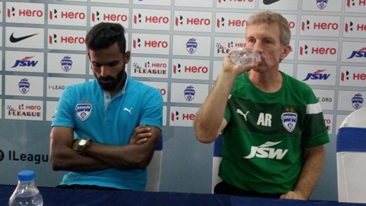 CK Vineeth Albert Roca Bengaluru FC I-League 2017