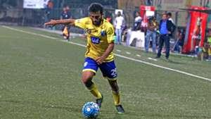 Nikhil Kadam Mumbai FC Aizawl FC I-League 2017