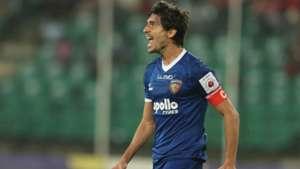 Henrique Sereno Chennaiyin FC Kerala Blasters FC ISL 4 2017/2018