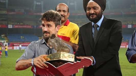 Marcelinho ISL season 3 2016 Golden Boot Award