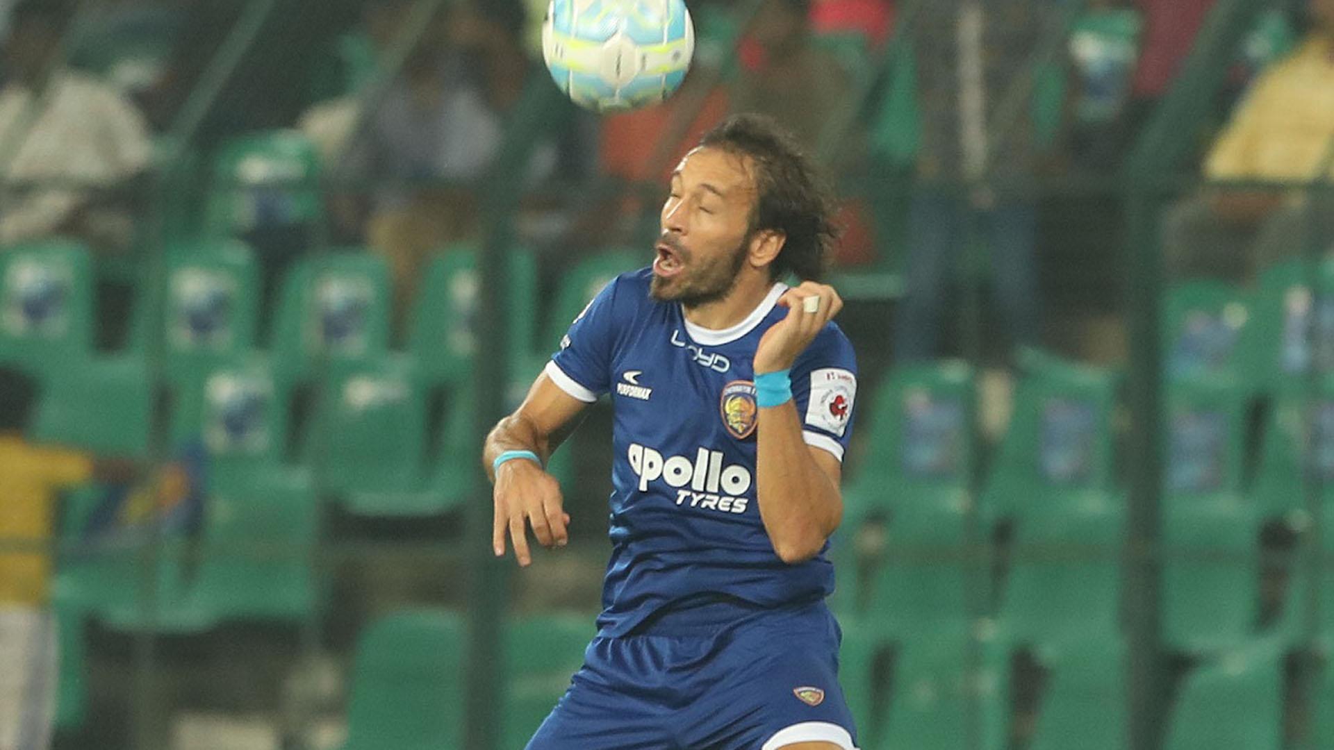 Inigo Calderon Chennaiyin FC NorthEast United FC ISL season 4 2017/2018