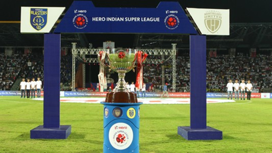 ISL trophy NorthEast United FC Kerala Blasters ISL Season 3 2016