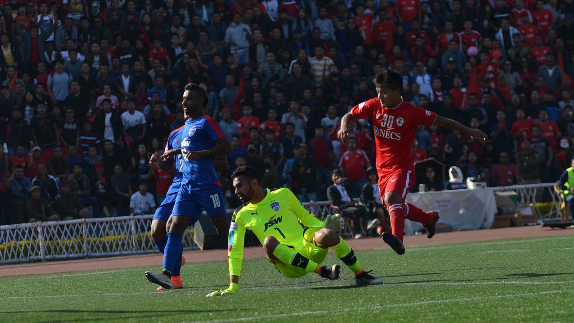 Aizawl FC Bengaluru FC I-League 2017