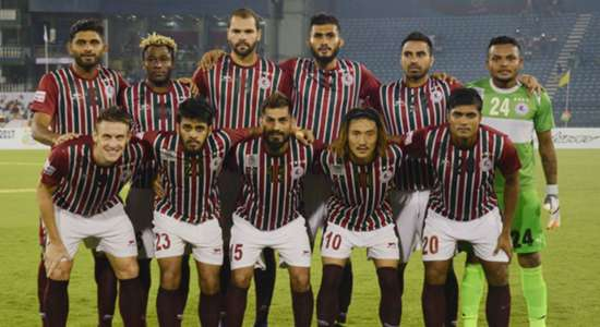 Mohun Bagan squad Federation Cup Final 2017