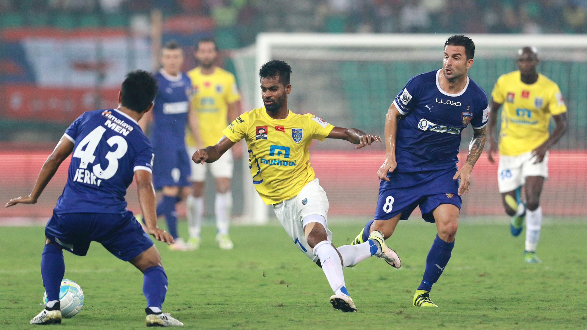 Mohammed Rafique Chennaiyin FC Kerala Blasters FC ISL season 3 2016