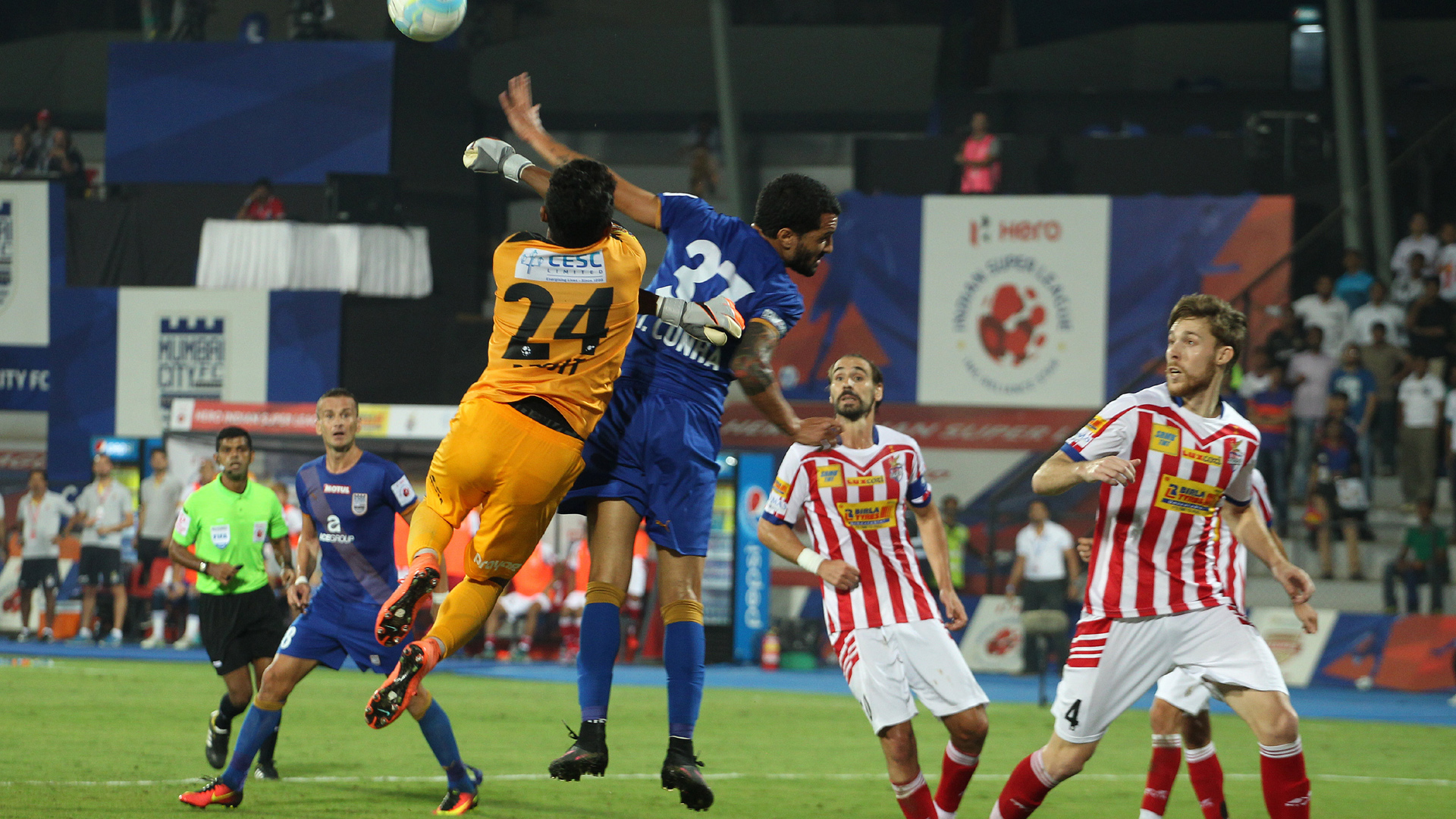 Mumbai City FC Atletico de Kolkata ISL semi final season 3 2016
