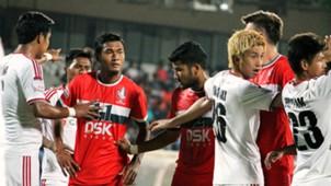 DSK Shivajians FC Shillong Lajong FC I-League 2017