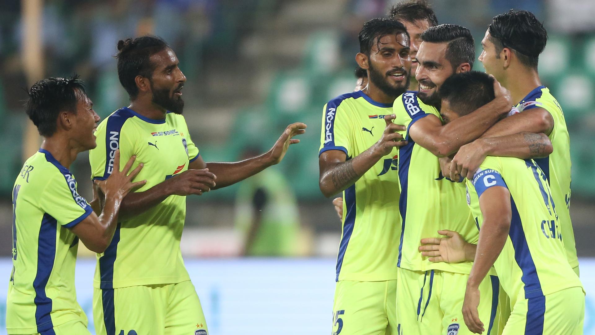 Chennaiyin FC Bengaluru FC ISL 4 2017/2018