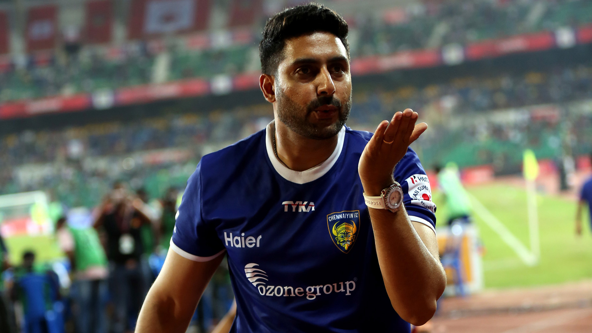 Abhishek Bachchan Chennaiyin FC FC Pune City ISL season 2