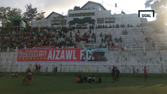 Aizawl FC celebration