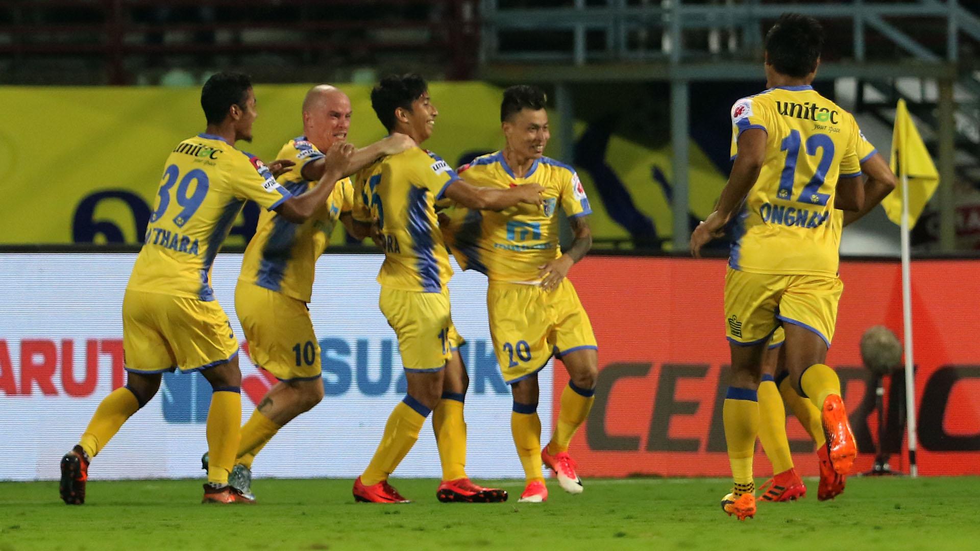 Kerala Blasters FC Delhi Dynamos FC ISL 4 2017/2018