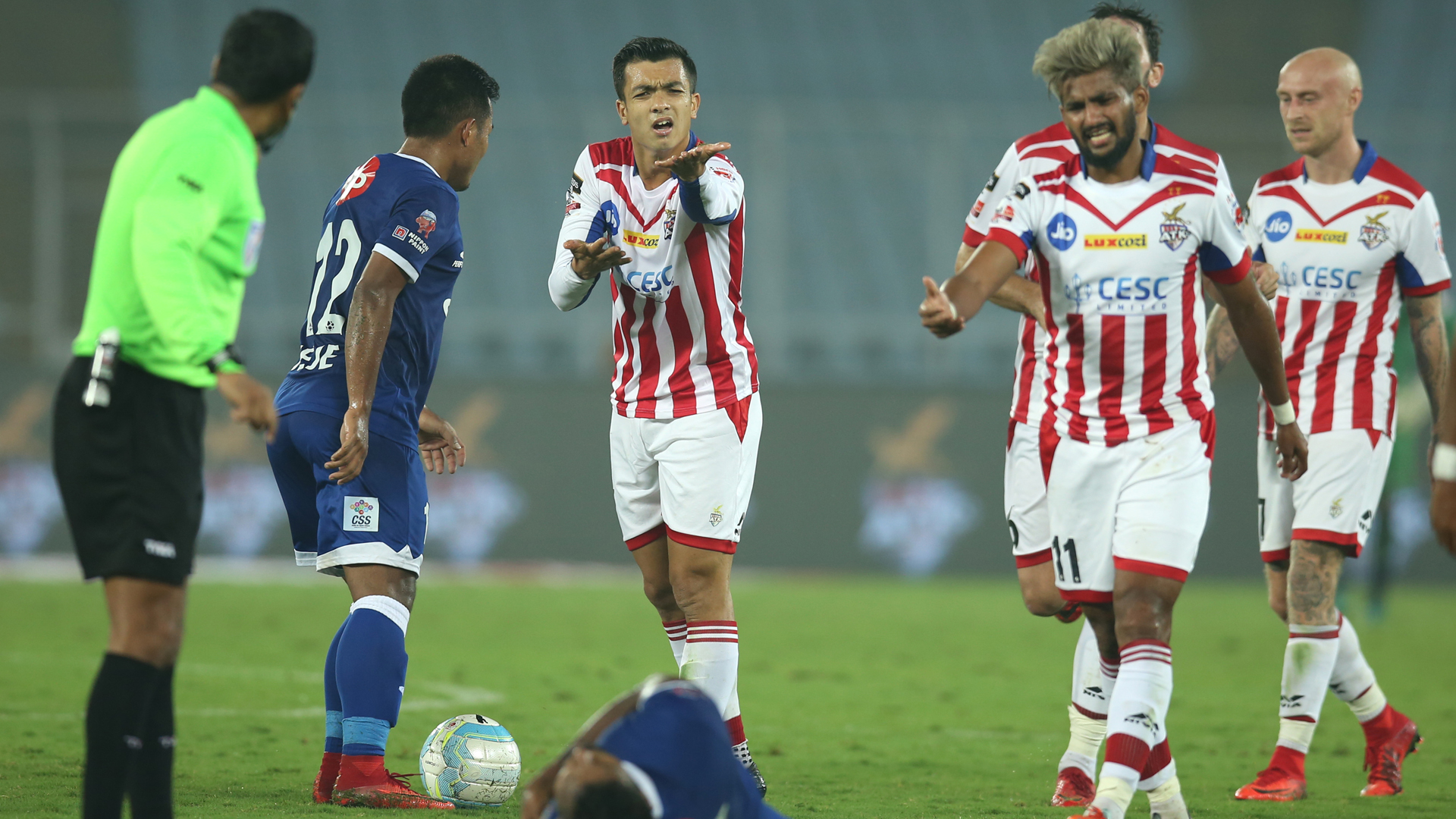Rupert Nongrum ATK Chennaiyin FC ISL 4 2017/2018