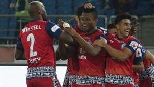Izu Azuka Delhi Dynamos FC Jamshedpur FC ISL season 4 2017/2018